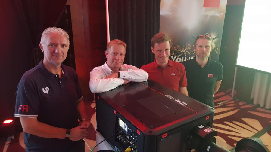 AED now has over 200 Barco 4K laser projectors in its rental portfolio!