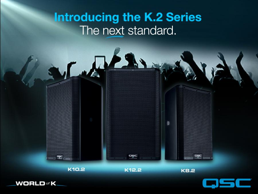 QSC introduces the K.2 Series