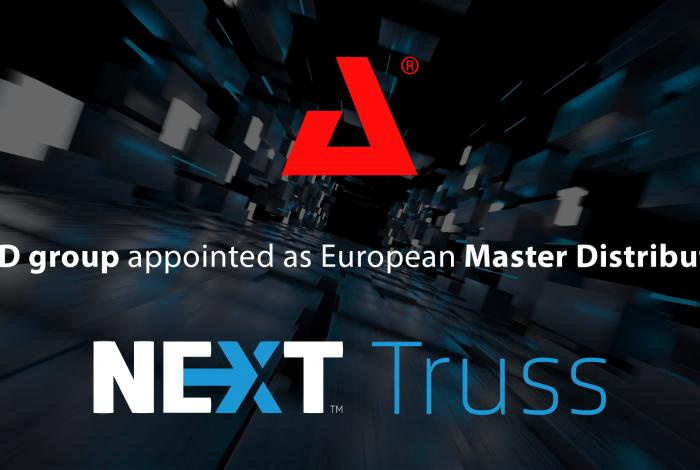 AED group appointed as European Master Distributor of NEXT truss