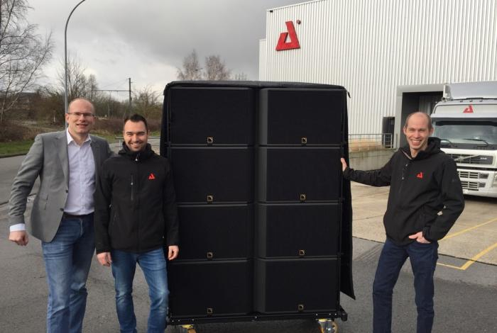 AED Rent enters the L-Acoustics K1 rental network