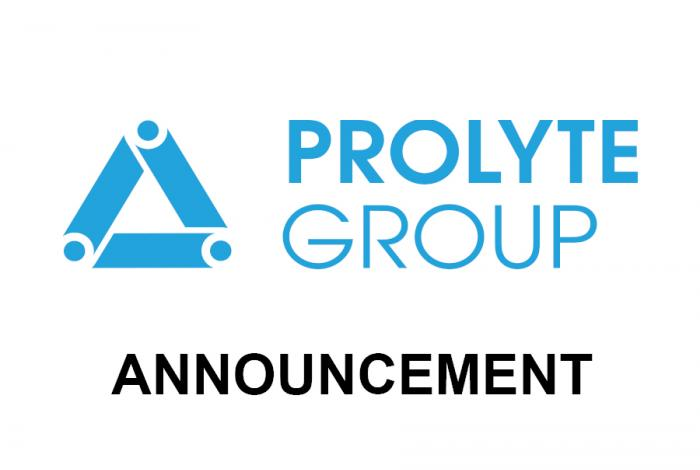 Prolyte announcement