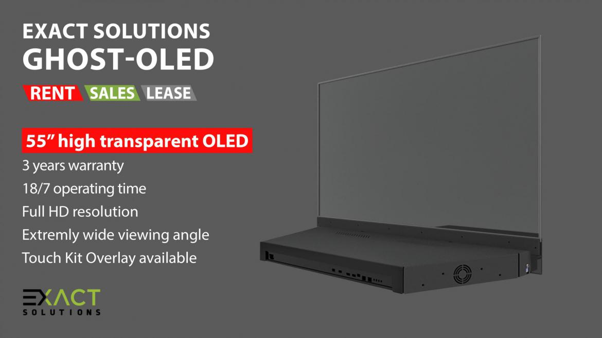 Exact Solutions Ghost-OLED