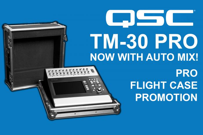 QSC TouchMix Pro Flight Case