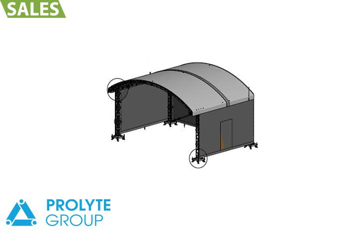 Prolyte Arc-roof 8x6 Promo