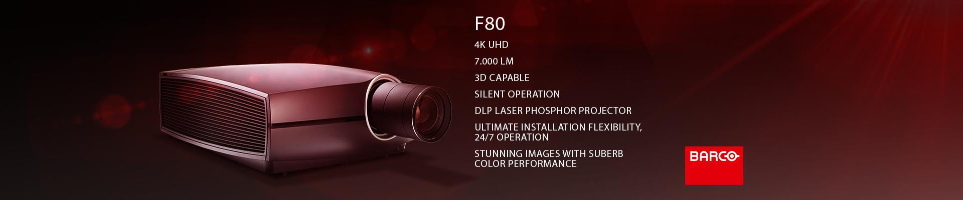 BARCO F80