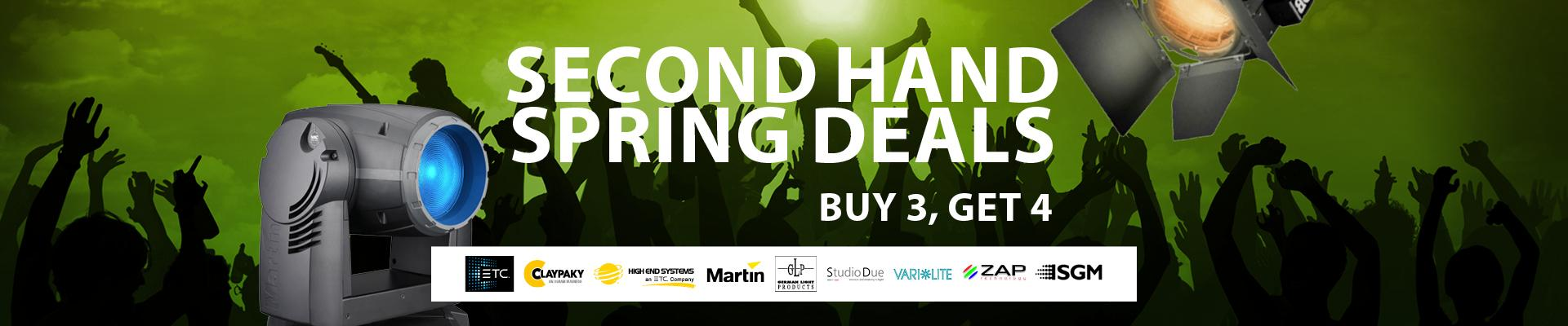 Second Hand Spring Deals