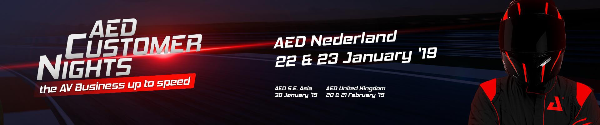 AED Customer Nights 2018-2019