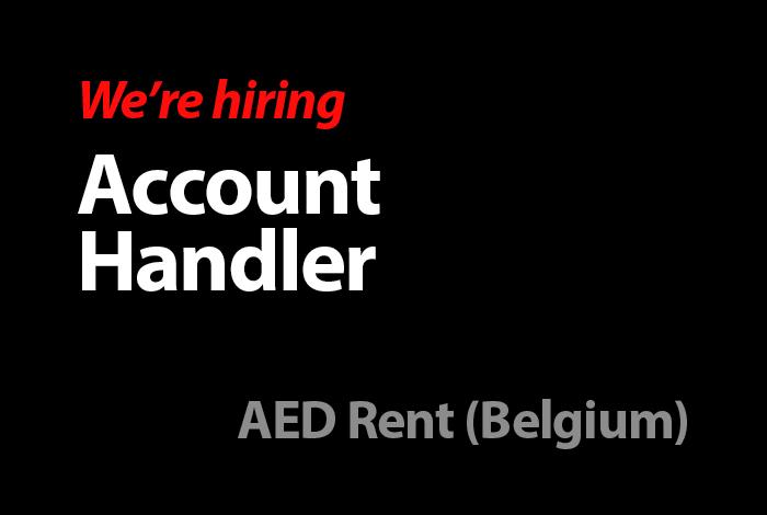 Account Handler (AED Rent Belgium)