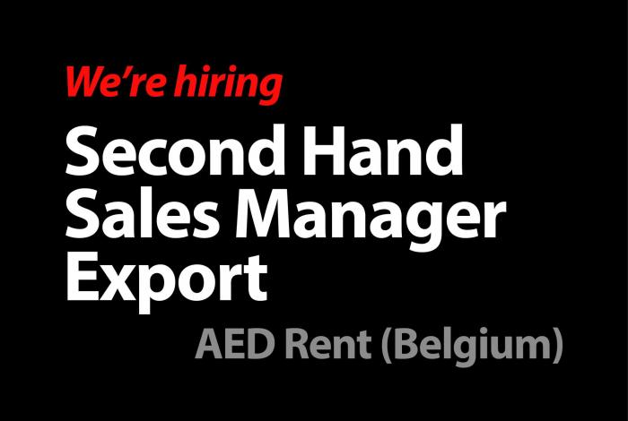 Second Hand Sales Export Manager