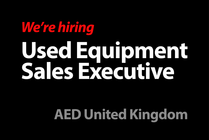 Used Equipment Sales Executive